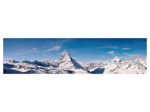 Panorama alpes mont cervin