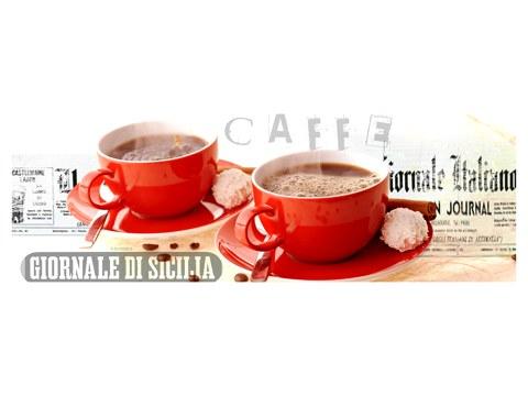 Photos avec motifs café rouges