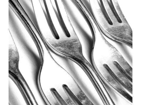 Photo de fourchettes