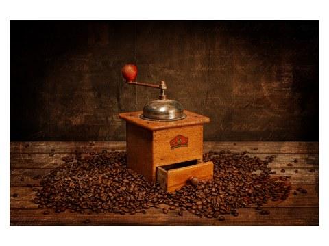 Photo de moulin à café