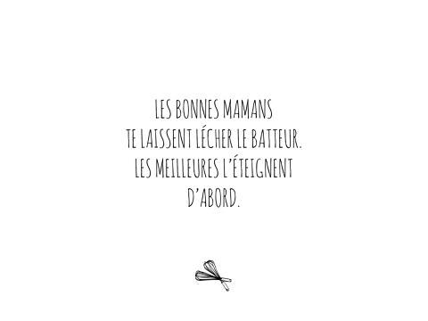 LES BONNES MAMANS