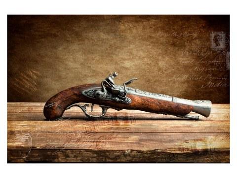 Photo de pistolet
