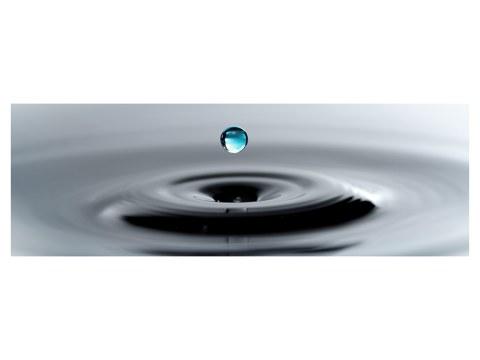 poster de goutte d'eau