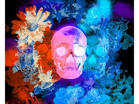 Image de tête de mort
