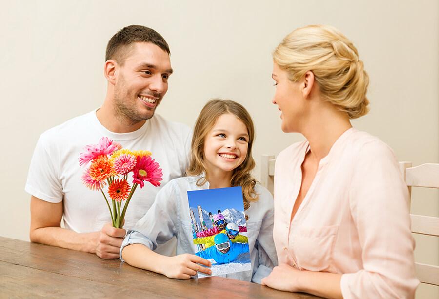 cadeau photo personnalisé_famille
