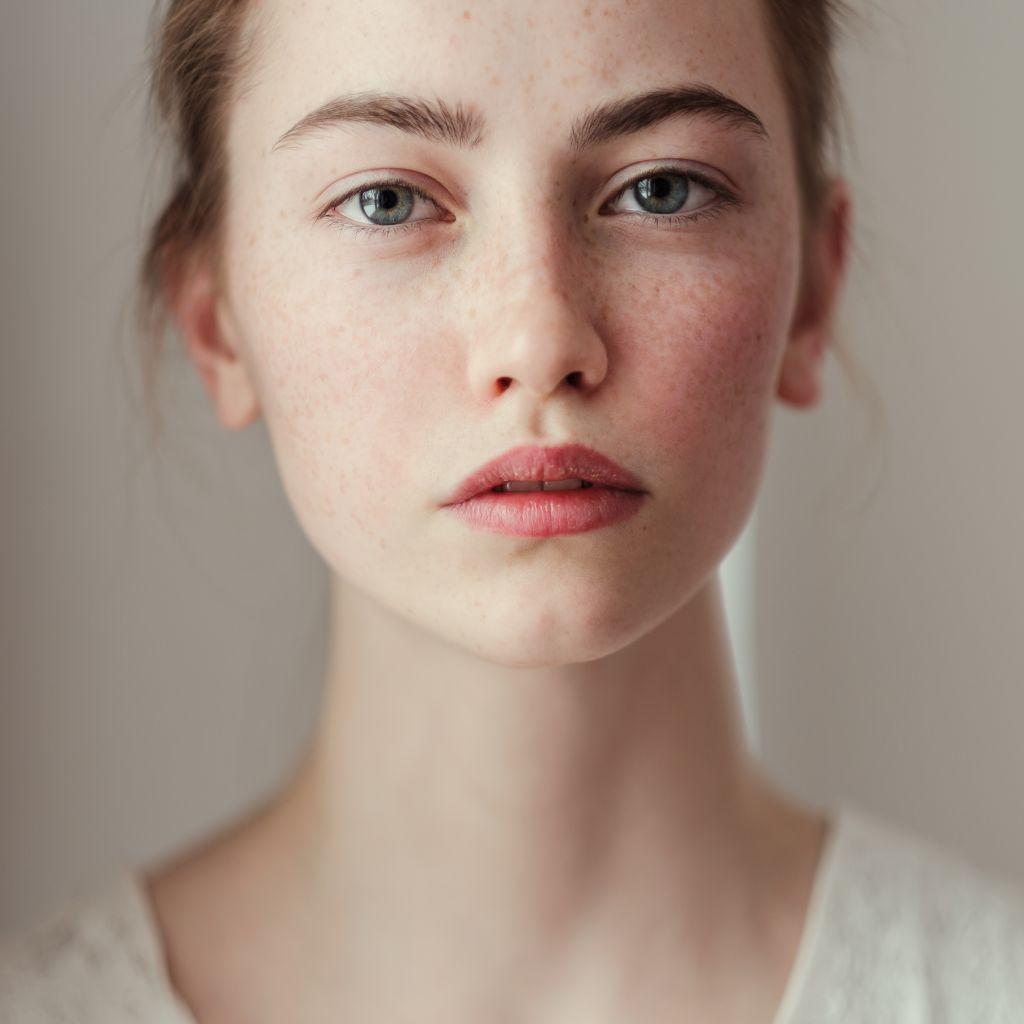 Photo portrait : Prendre une photo portrait en gros plan femme