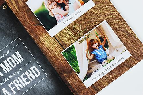 Muttertagsgeschenk Design-Volage und Memoboard scrapbooking_02
