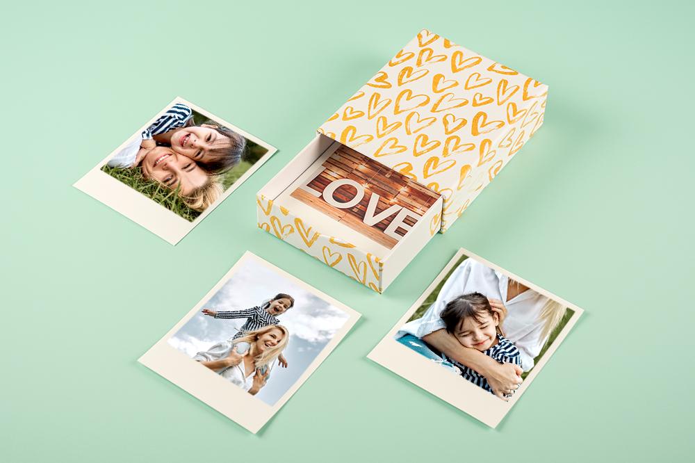 Fête des mères : nos idées de cadeaux photo & pêle-mêle DIY / box photos fête des mères/ myposter