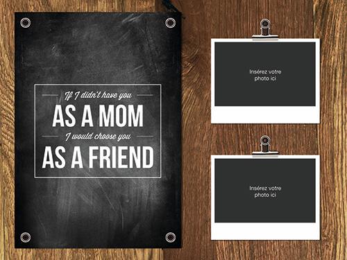 Montage photo fête des mères