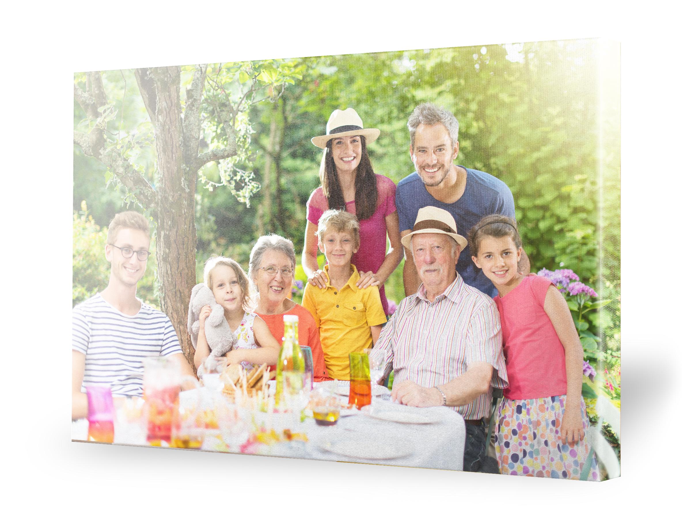 Photo de famille / Fête des grands-mères