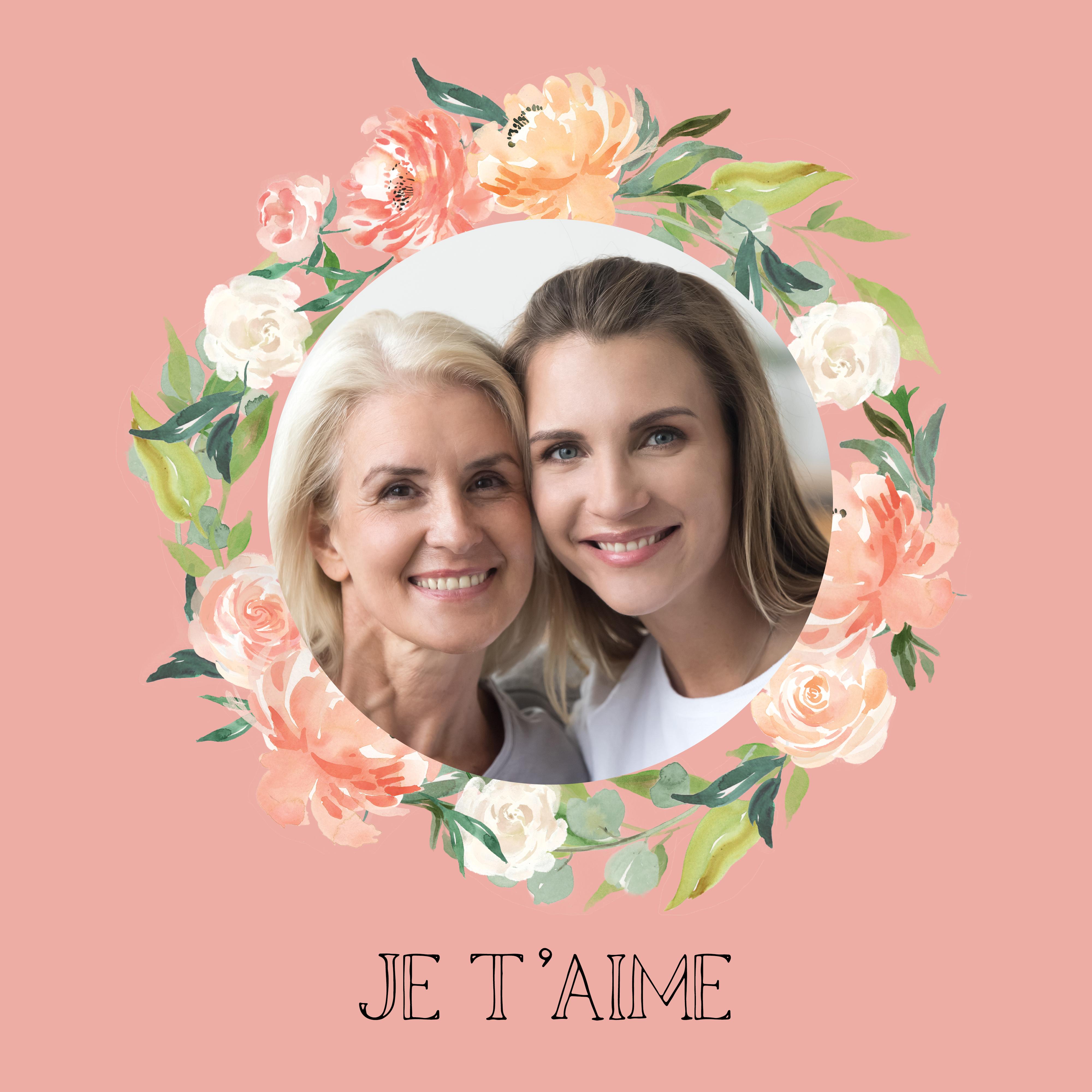 montage photo gratuit à télécharger fête des mères / myposter modèle 1