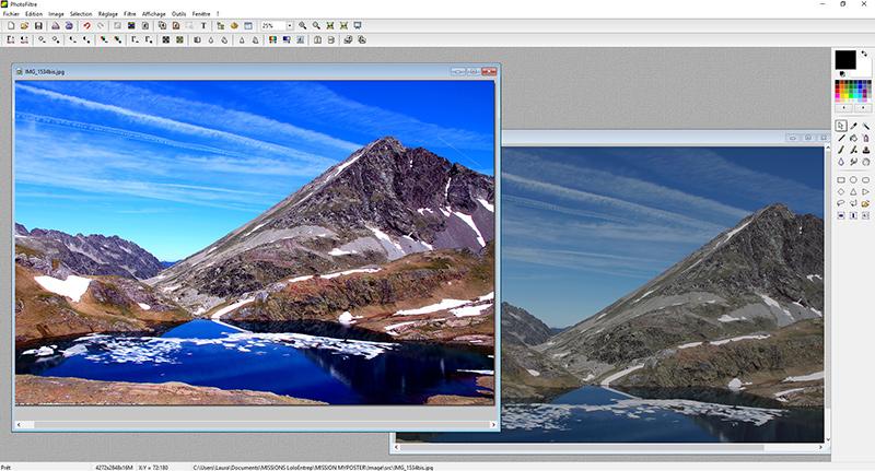 Logiciel retouche photo Photofiltre