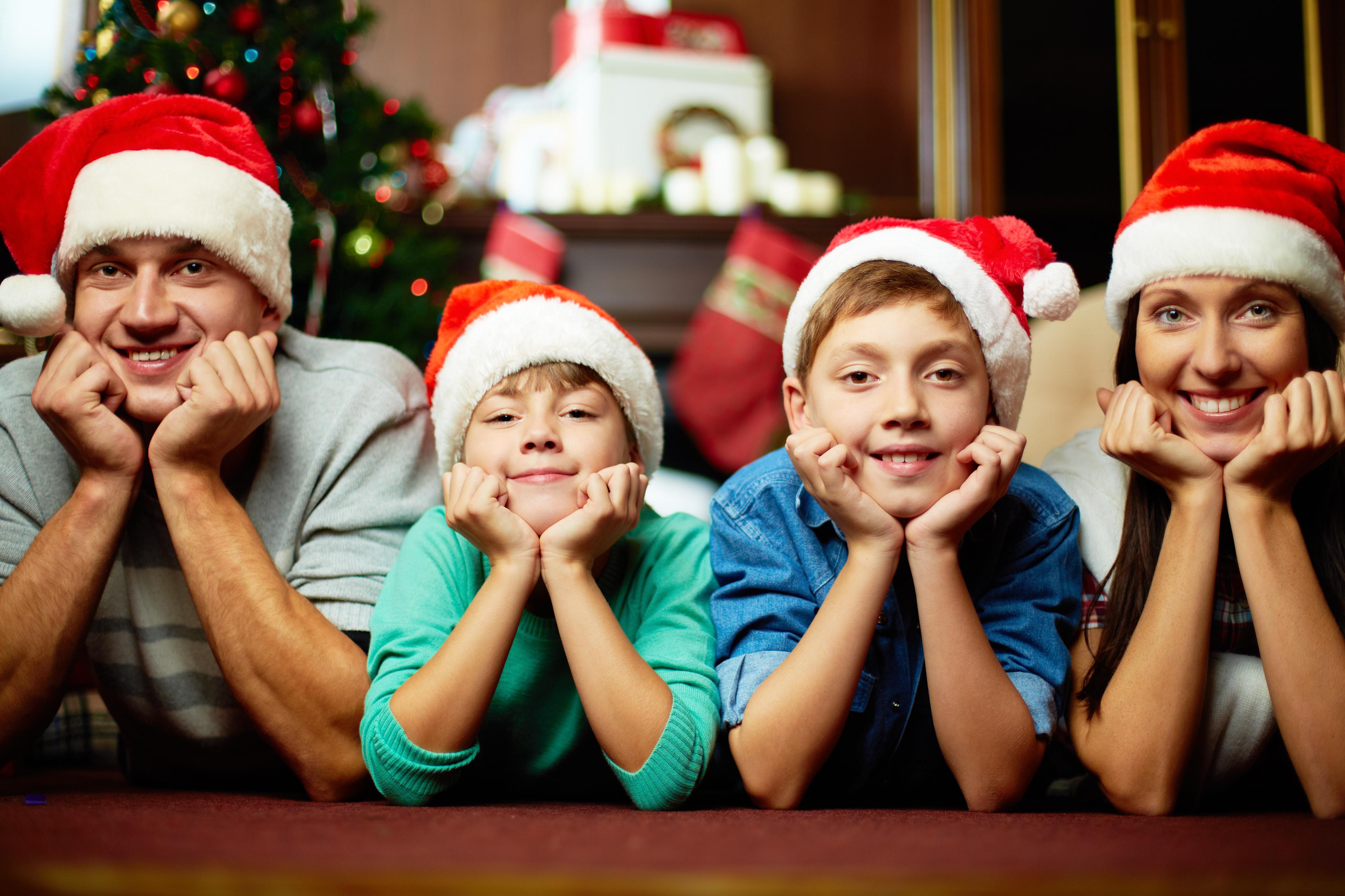 Comment réussir ses photo de famille à Noël