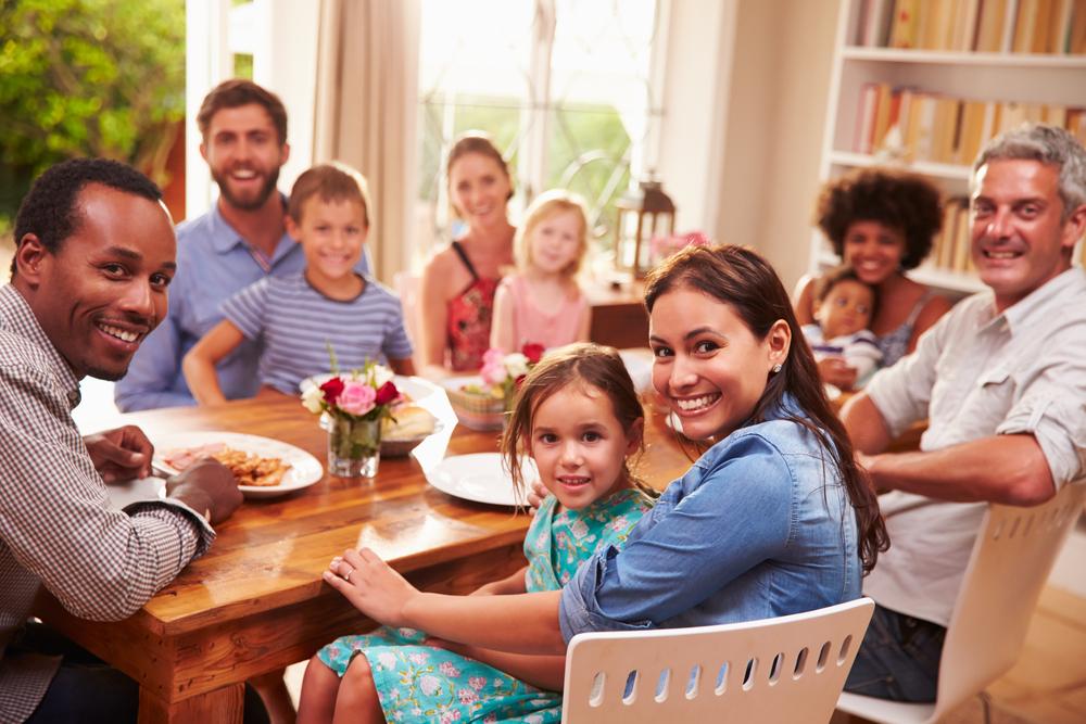 photo de famille intérieur