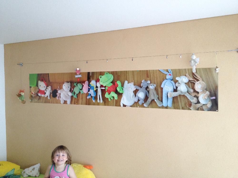 Exemple photo d'un client sur poster photo pour la déco d'une chambre d'enfant – @myposter / Martin B.