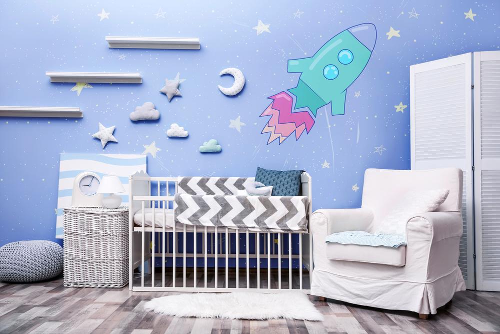 Déco chambre bébé magique et étoilée