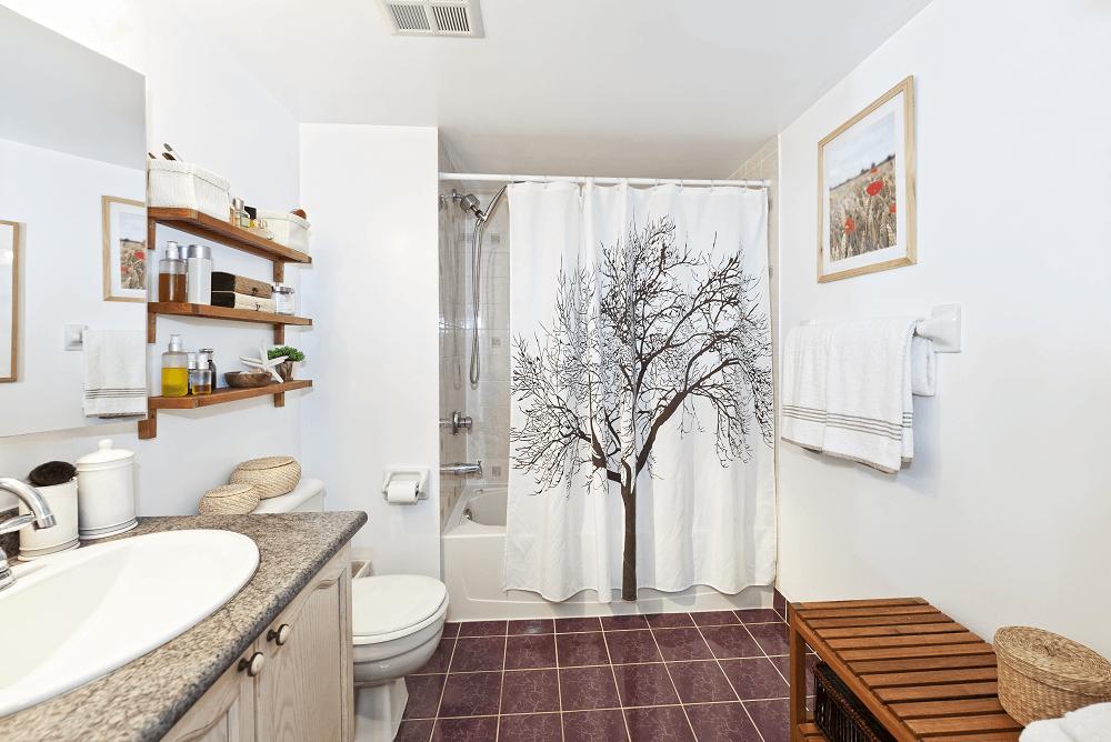 Idées déco salle de bain nature