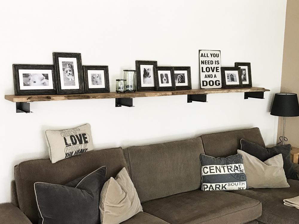 Idées déco mur de photos impression client de posters nb encadrés myposter