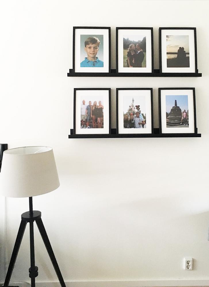 Idées déco mur de photos impression client de posters encadrés myposter dana