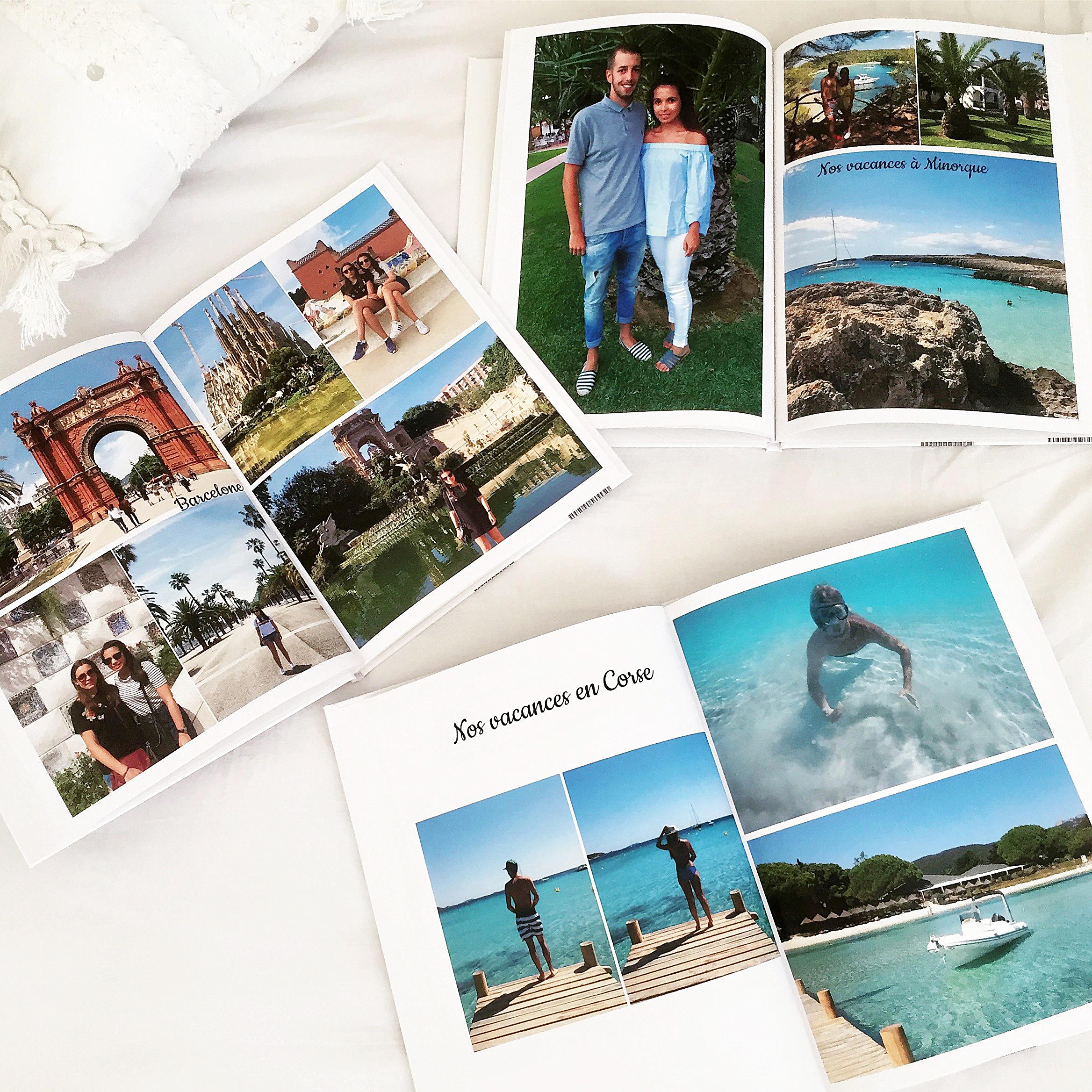 Idées de cadeaux : livre photo de vacances / impression client d'Eva / myposter