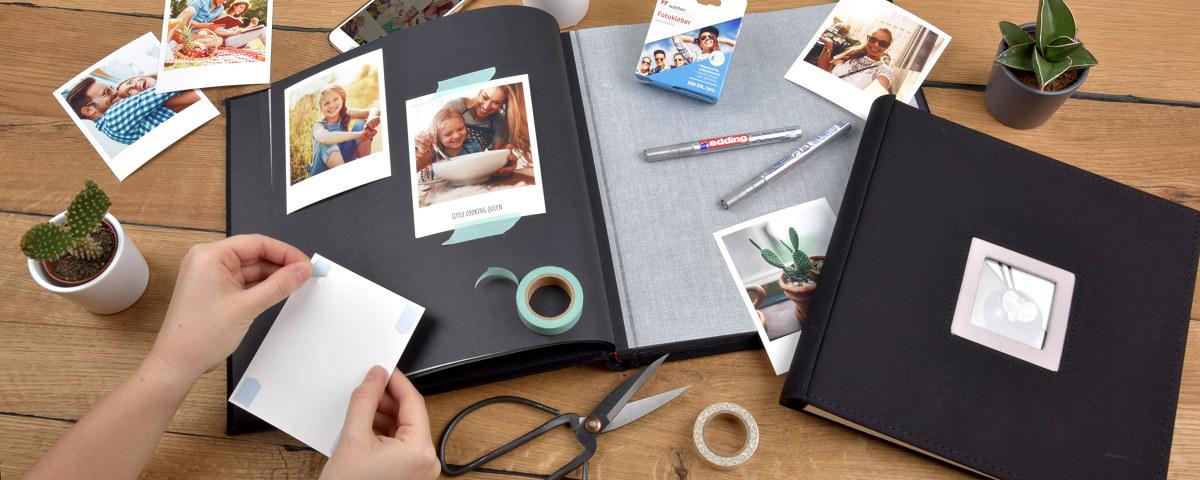 Idées cadeaux - album photo DIY façon scrapbooking / myposter