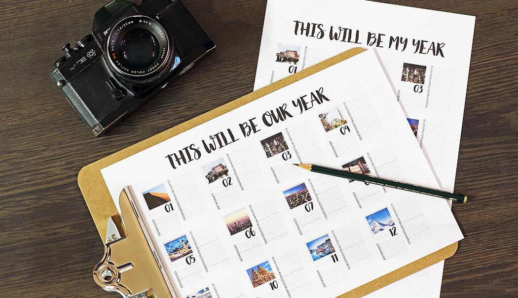 Idée cadeau personnalisé pour papy / calendrier photo / myposter