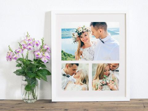 Idées de cadeaux de mariage - décoration de table ou pêle-mêle photo / myposter
