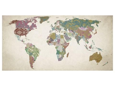Photo de carte du monde / imagerie myposter