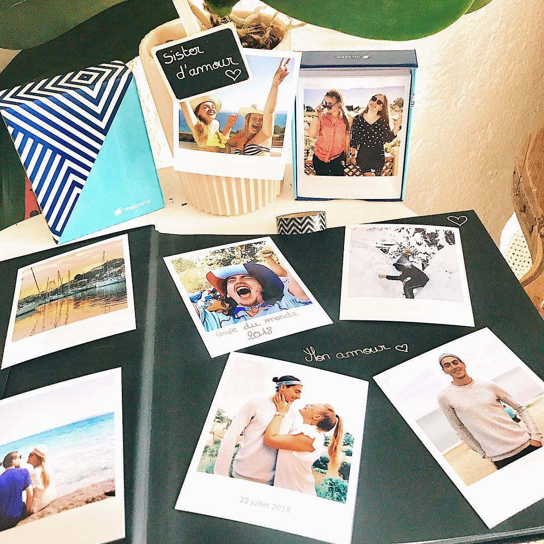 album photo scrapbooking de famille / client myposter