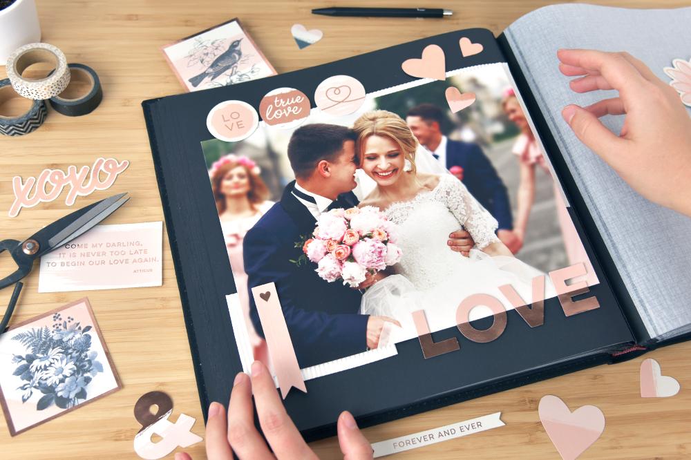 album photo scrapbooking mariage / myposter