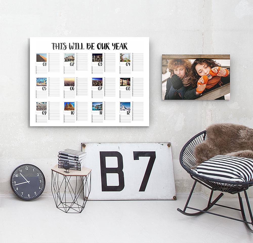 Votre calendrier photo gratuit à personnaliser !