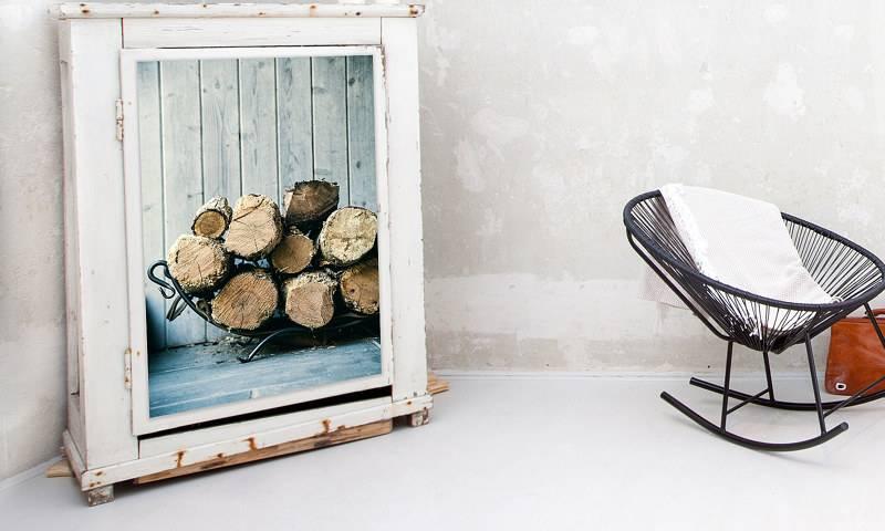 Stickers pour meuble comme solution pour accrocher photos