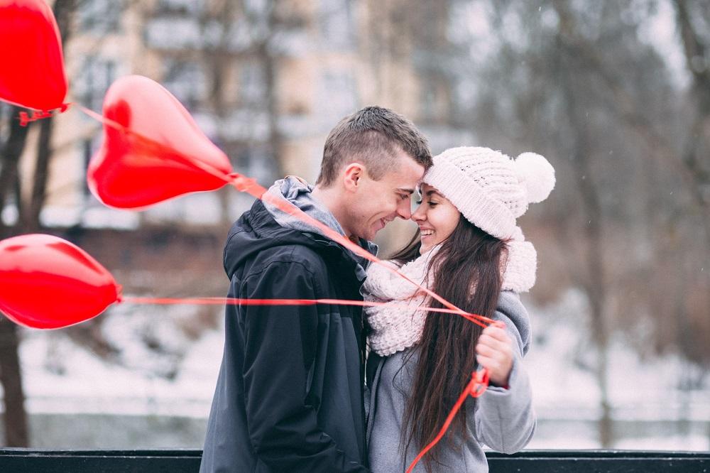 Photos de couple romantiques pour la Saint Valentin