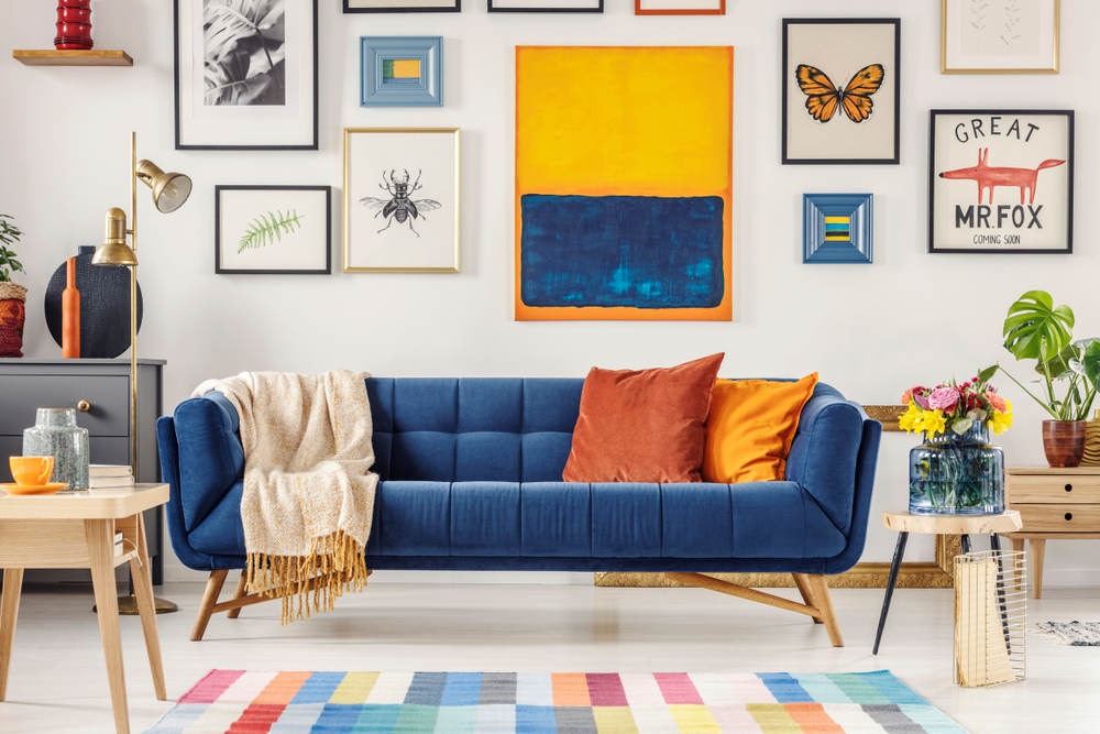 Relookez Vos Murs Avec 5 Idees Decoration Murale Pour Salon