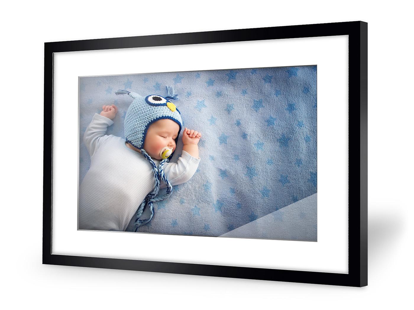 Photo de bébé encadrée
