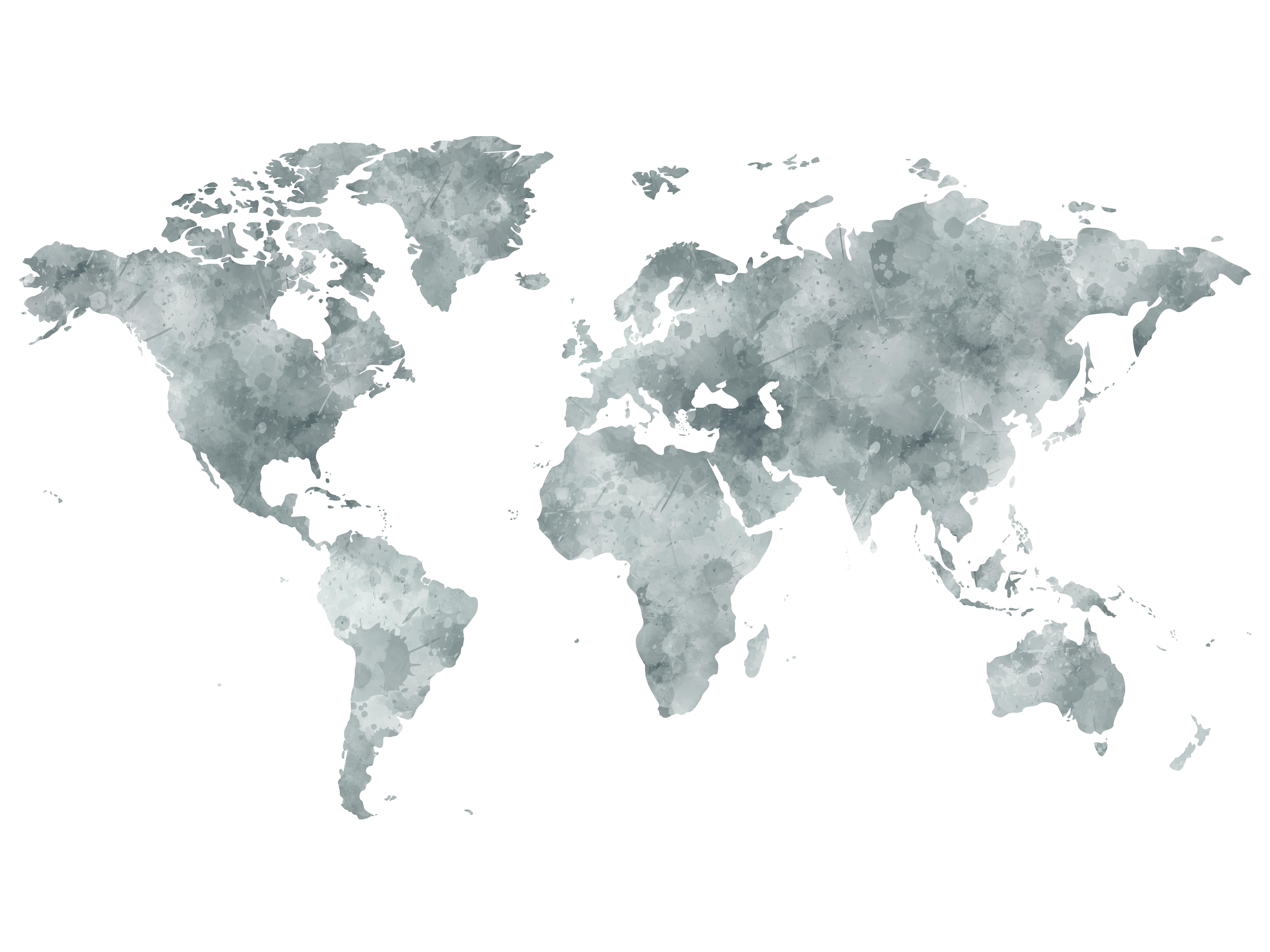 Carte Du Monde Déco à Imprimer épingler Tuto