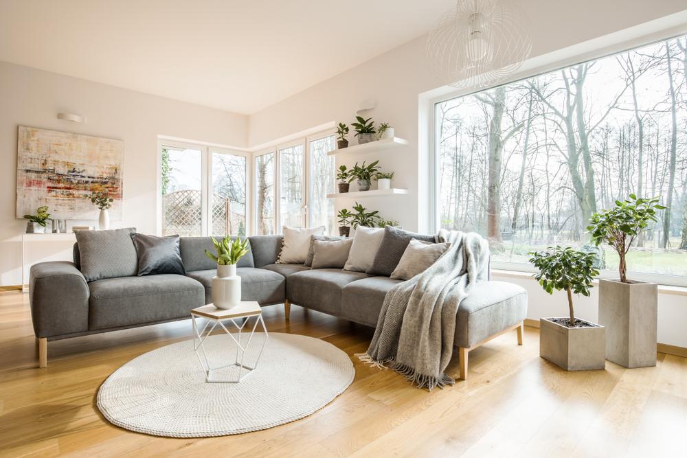 Deco salon scandinave / myposter